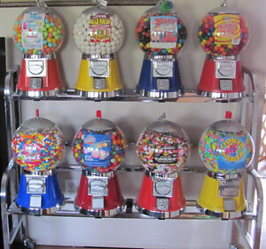 Gumball vending machine rack  NEW