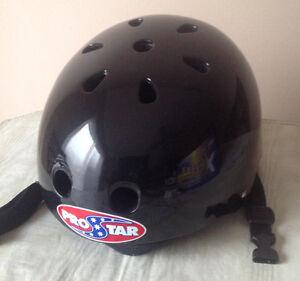 New Multi-Sport Hard Shell Helmet - Black Medium