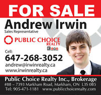 POWER OF SALE: Properties around the GTA in forecloser