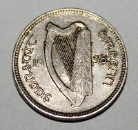 Lot de 5 pièces de monnaie d'Irlande pour $15