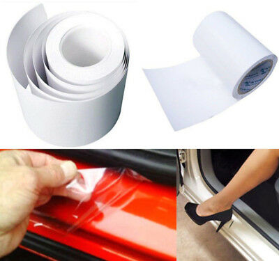 6X60  Clear Rear View Mirror Car Door Sill Edge Paint Protection Scratch Sticker