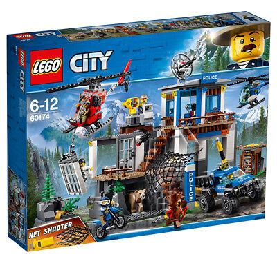 LEGO CITY POLIZIA 60174 - QUARTIER GENERALE IN MONTAGNA