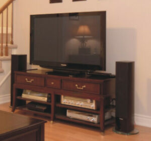 TV/Entertainment Table made of wood $375.00