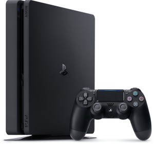PlayStation 4 Slim Gaming Console 500G 2 Controllers and 3 Games