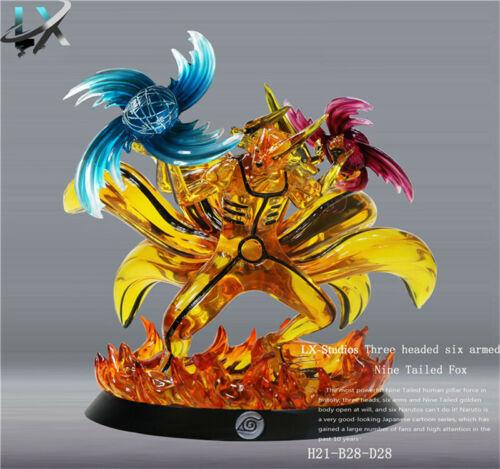Naruto Kurama kyuubi Statue Resin Model GK Collection LX Studio New