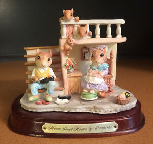 VINTAGE STATUE – HOME SWEET HOME by LEONARDO – LITTLE NOOK V