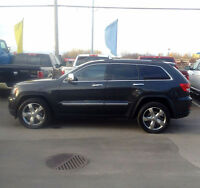 2011 Grand Cherokee Overland || Financement 100% approuvé