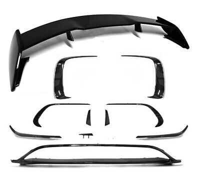 Für Mercedes-Benz A-Klasse W176 A45 AMG Look Edition Aero Spoiler Flaps Flics #1