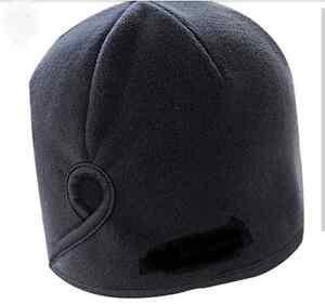 Black Fleece Ponytail Hats