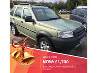 2003 Land Rover Freelander 2.0 Td4 auto-10 Service-2 Keepers-2 Keys-Full MOT