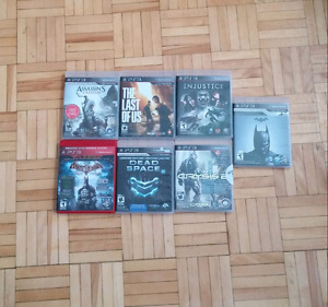 PS3 Games, Various Titles, See Description for Prices