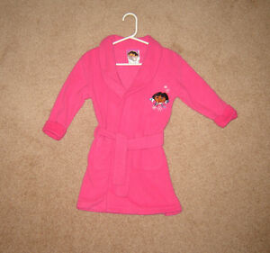 Dora Housecoat, Dresses, Clothes - sz 3, 4 / Winter Boots  sz 8
