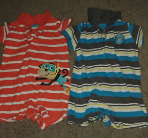 3-6 month boys summer clothing