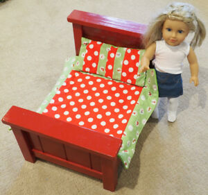 Hand Made Doll Bed