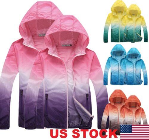 Waterproof Sunscreen Jacket Mens Womens Oversized Lightweigh