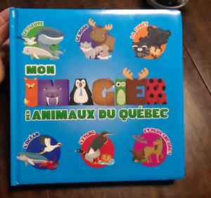 Imagier des animaux du Québec