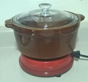 Vintage Cornwall Electric Hot Plate Food Warmer