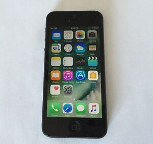 Apple iPhone 5 16GB Black. Rogers & Chatr Good Condition $140