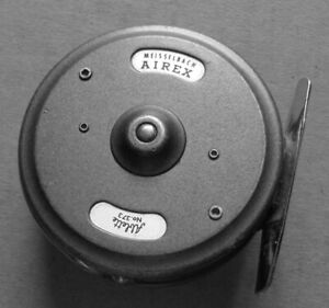 FLY FISHING REEL,GERMANY,AIREX,MEISSELBACH,ABLETTE,# 373........