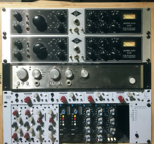 Recording Studio Gear - Universal Audio, Rupert Neve Designs