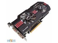 Nvidia GTX 560 Ti Graphics Card (ASUS DIRECTCUII TOP)