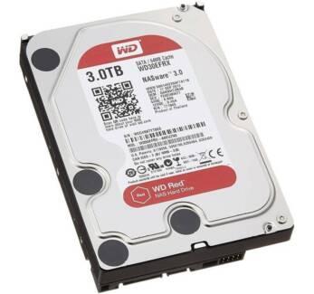 "Western Digital WD Red NAS 3.0Tb HDD - 3.5"", 64Mb Cache"