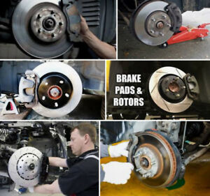 BRAKE ROTORS &PADS &$239.99 ONLY 59$ Wheel Alignment