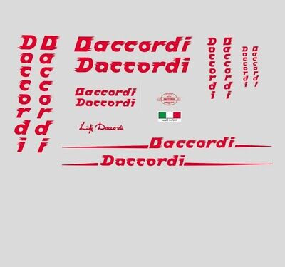Daccordi Bicycle Decals, Stickers n.300 for sale  Shipping to United States