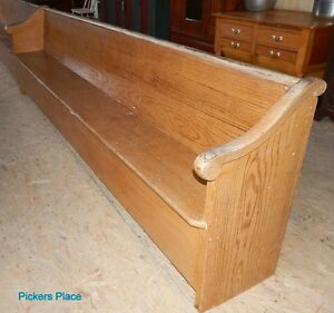 2 Matching Church Pews Peterborough Peterborough Area image 6