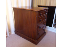 Upcycled Victorian Mahogany cabinet - suit wine cupboard or LP record storage £80 ono