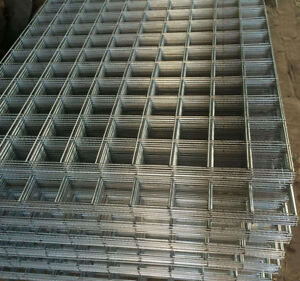 Welded wire mesh sheets in wide range of variation