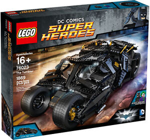 BNIB Sold Out / Retired Lego Batman The Tumbler 76023 UCS