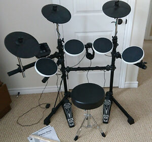 Univox General MIDI Electronic Drum Set (as new)