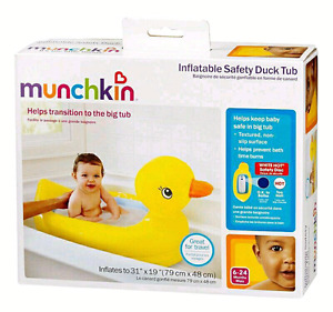 New Munchkin inflatable bath