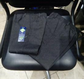 Brand New Boy's Gray School Trouser's