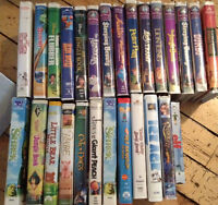 Childrens VHS Movies