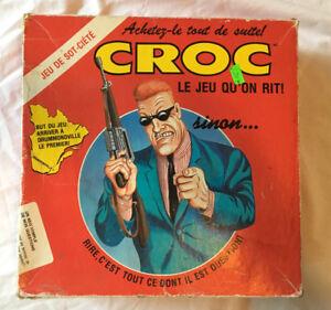Jeu vintage Croc - Le jeu questionnaire qu'on rit! - 1989