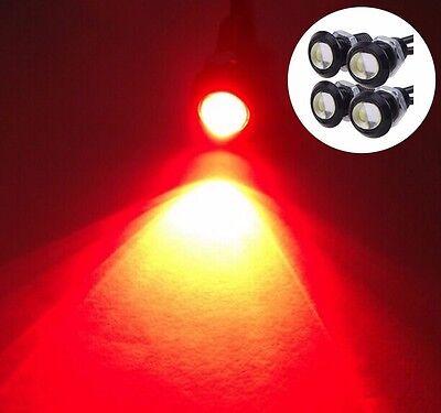 4x Red LED Boat Light Waterproof 12v Outrigger Spreader Transom Marine Dock