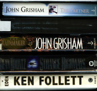 John Girsham, Ken Folett,  Koonctz, Le Careé Five hard Cover