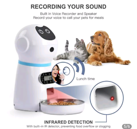electric food dispenser for pets
