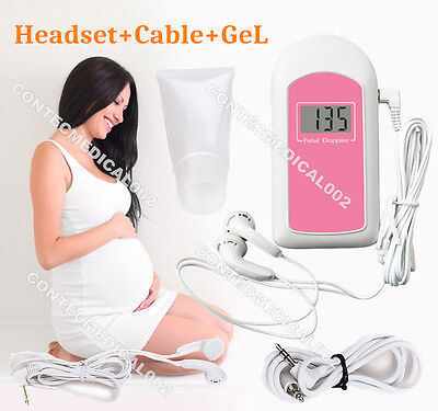 Fda Lcd Pocket Prenatal Fetal Doppler Baby Heart Beat Monitorgelus Seller