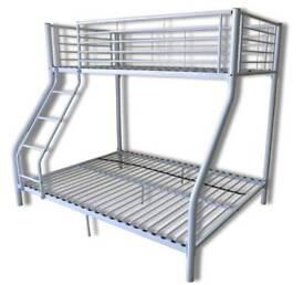 Triple bed frame