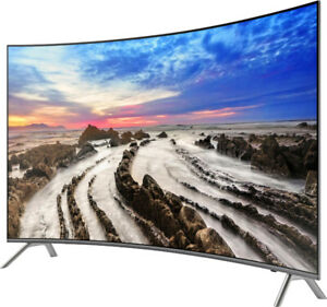 """Samsung Curved 55"""" 8 Series 4K UHD HDR TV"""
