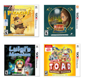 Looking for specific 3DS games