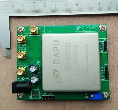 10mhz Ocxo Crystal Oscillator Frequency Reference Reference Board Adjustable