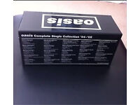 OASIS COMPLETE SINGLE COLLECTION 94-05 VERY RARE AL SINGLES SEALED IN ORIGINAL CASE