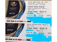 ICC Champions Trophy 1st Semi Cardiff Tickets