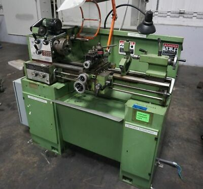 11 X 25 Emco Maximat Super 11 Tool Room Lathe With Grinding Attachment
