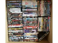 Dvds and games joblot
