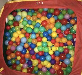 Ball Pit Balls Big Bin Bag Enough to Fill Pit